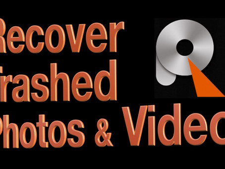 Recover Photos, Videos or any File from the Trash Bin