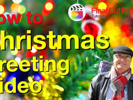 Create your own personalised Video Christmas Greeting Card