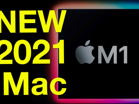 The 2021 NEW M1 24-inch iMac