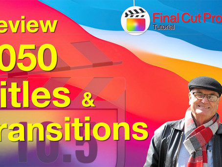 1050 Titles and Transitions