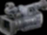 Sony AX2000 wedding camera