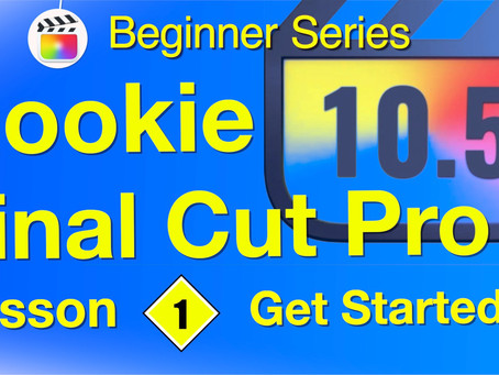 Get Started in Final Cut Pro with 15 comprehensive lessons