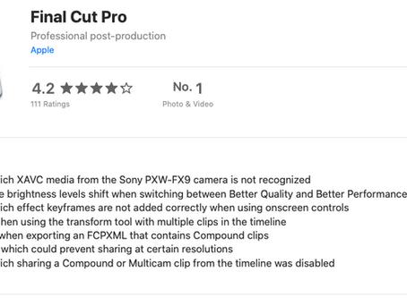 Final Cut Update 10.4.10 - bug fixes