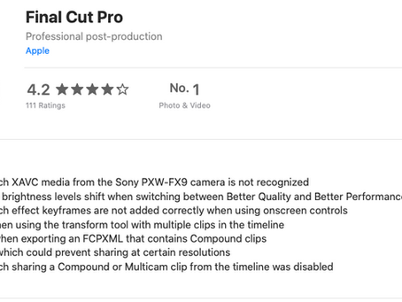Final Cut Update 10.4.10 - bug fixes