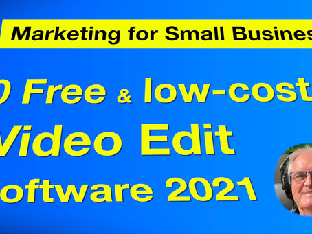 10 Free and low-cost Video Editors - 2021.