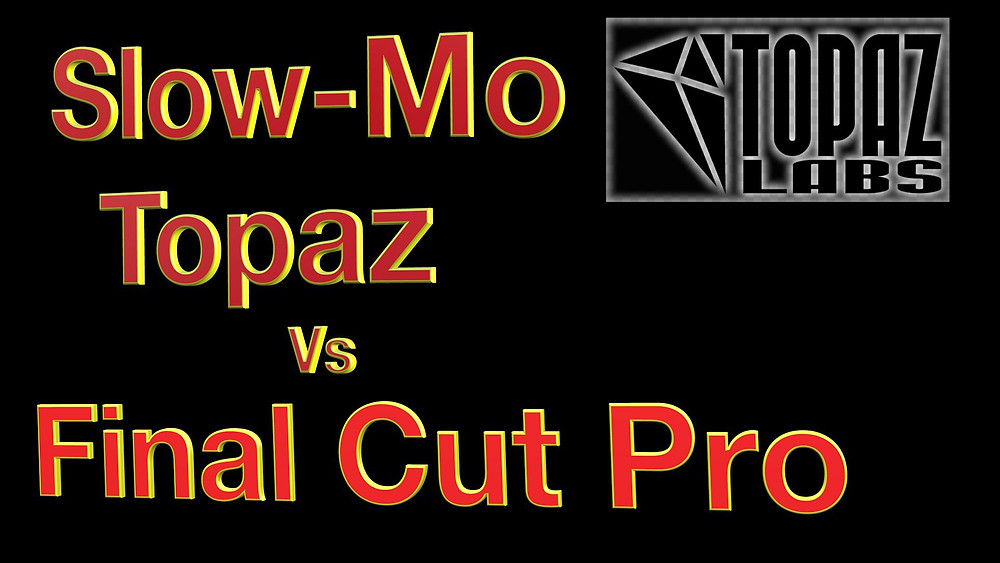 Topaz Video Enhance can create smooth slow-motion, slowed down by up to 2000%.   To give a comparison, I will slow down a clip with Optical Flow in Final Cut Pro to compare, using the Chronos model in Topaz Video Enhance with an 800% reduction in speed.