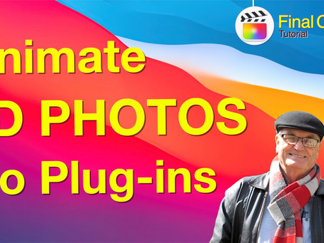 3D Animated Photos without Plug-ins