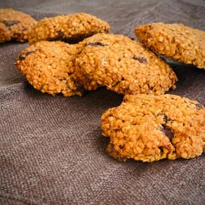 Cookies au granola et chocolat