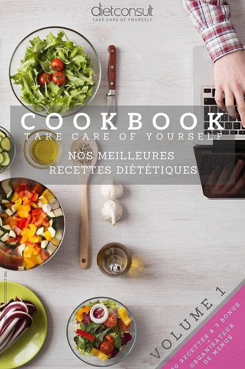e-Cookbook VOLUME 1 - Nos meilleures recettes diététiques (digital)