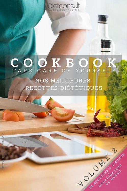e-Cookbook VOLUME 2 - Nos meilleures recettes diététiques (digital)