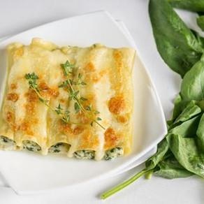 Cannellonis aux légumes et ricotta