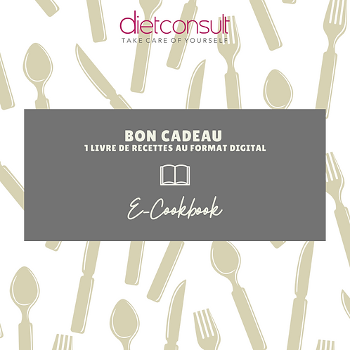 BON CADEAU E-COOKBOOK