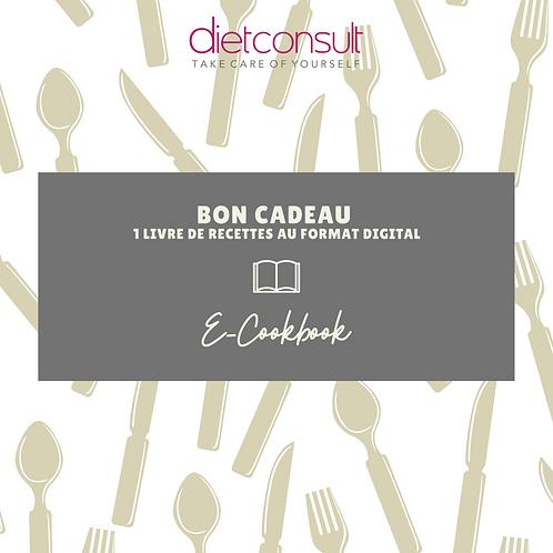 BON CADEAU E-COOKBOOK