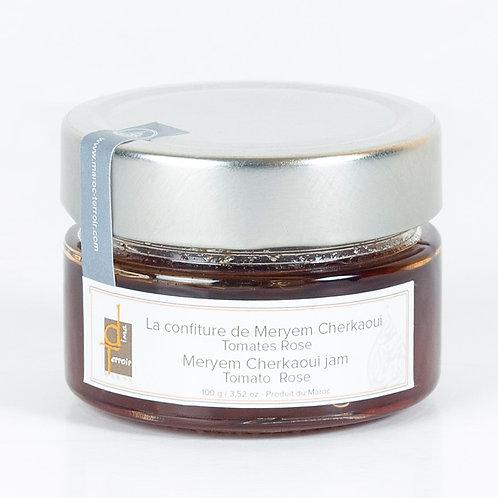 DIMA TERROIR - Confiture Tomate /Eau de rose MAROC (MERYEM CHERKAOUI) 110g