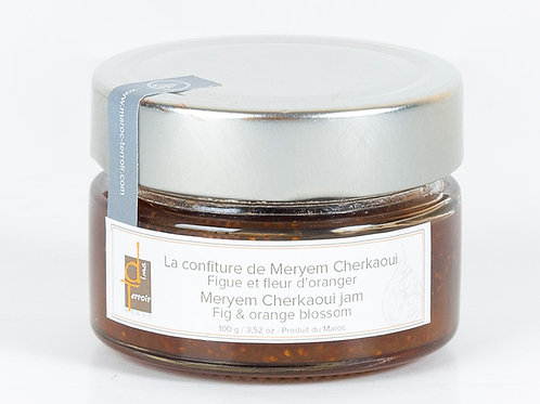 DIMA TERROIR - Confiture Figues / Fleur d'oranger MAROC (MERYEM CHERKAOUI) 110g
