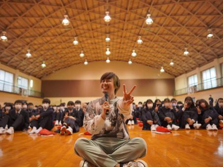 #熊野高校に行って来ました