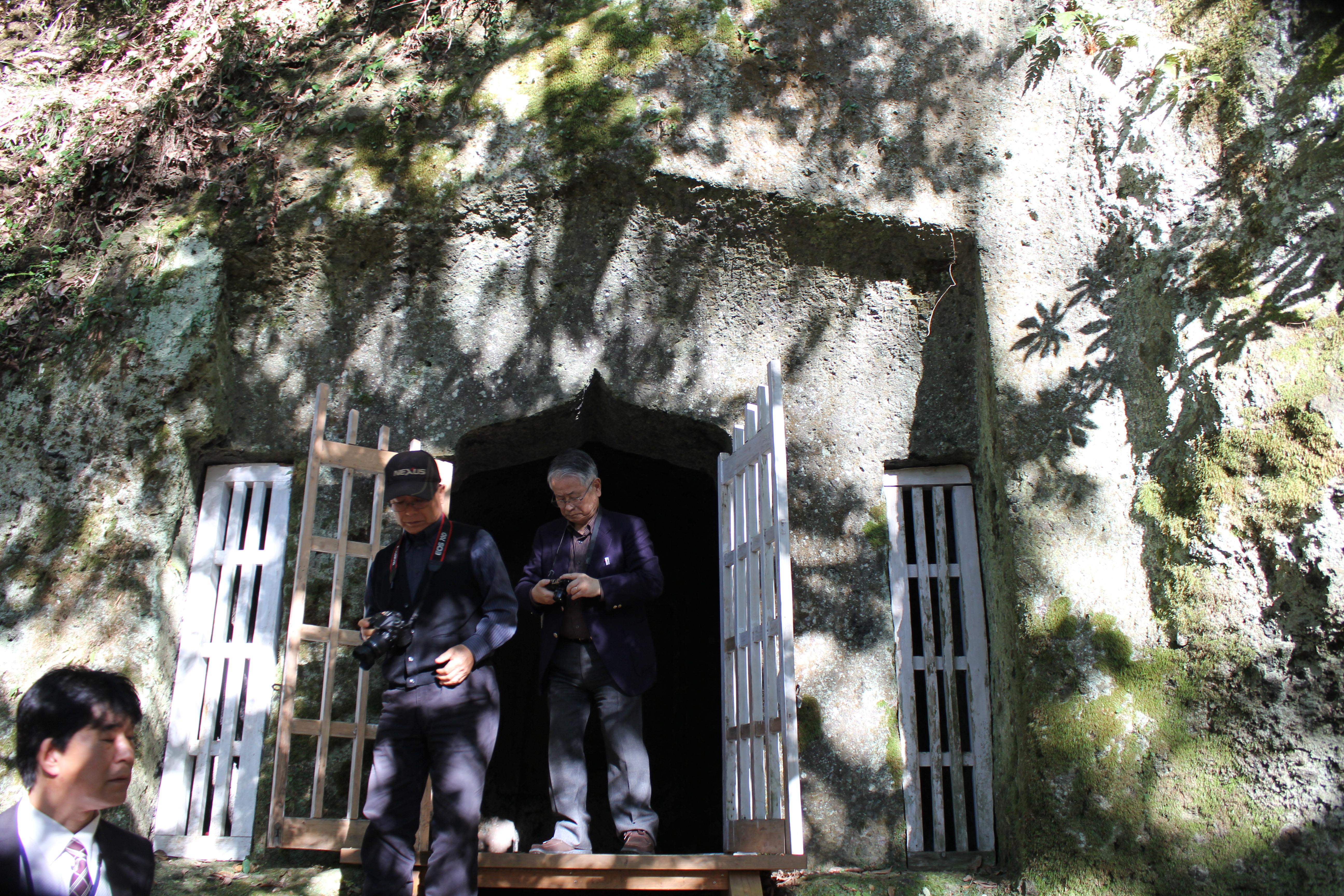 岡城、洞窟礼拝堂他