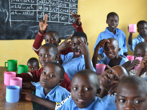 School Feeding Programme Success