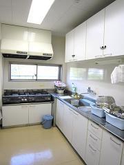 調理訓練用の台所