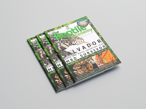 The Reptile Academy Magazine Paperback Volume 1, Issue 1