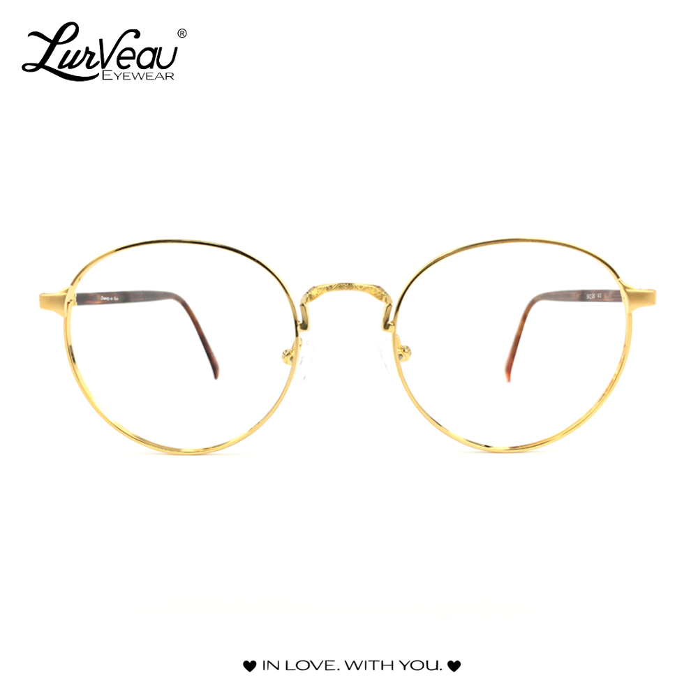 Yellow Gold Vintage Frame