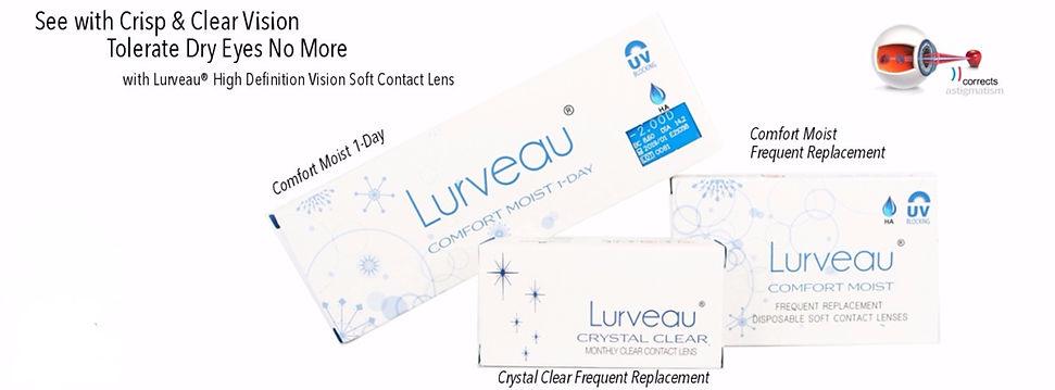 Lurveau HDV Clear Contact Lens malaysia