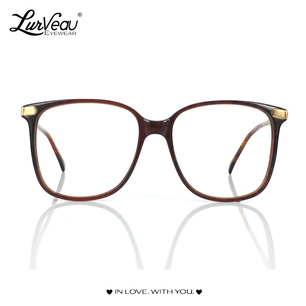 Brown Geek Vintage Frame