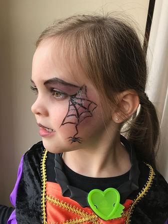 Maquillage enfant sorcière halloween