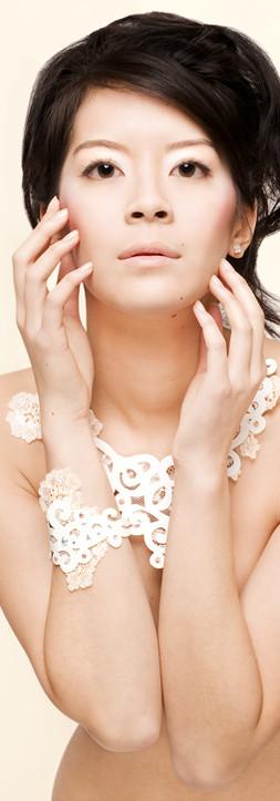 Bijoux dentelle cuir
