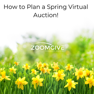 How to Plan a Spring Virtual Auction!