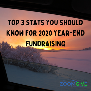 Top 3 Stats You Should Know For 2020 Year-End Fundraising