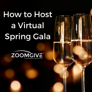 How to Host a Virtual Spring Gala