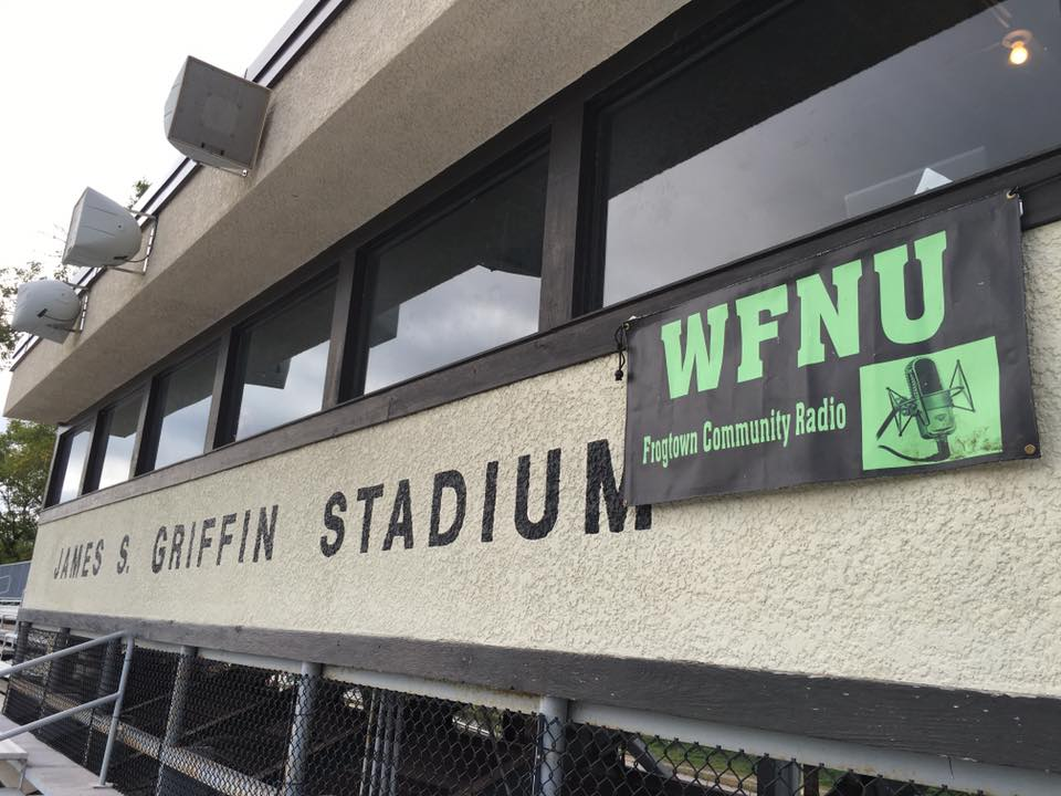 Griffin and WFNU Banner