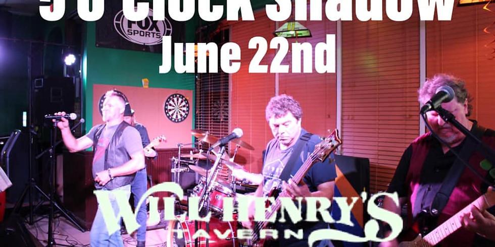 5 O'Clock Shadow Live!