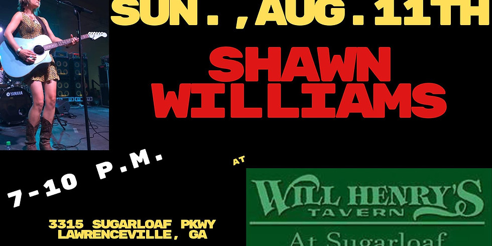 Shawn Williams Live!