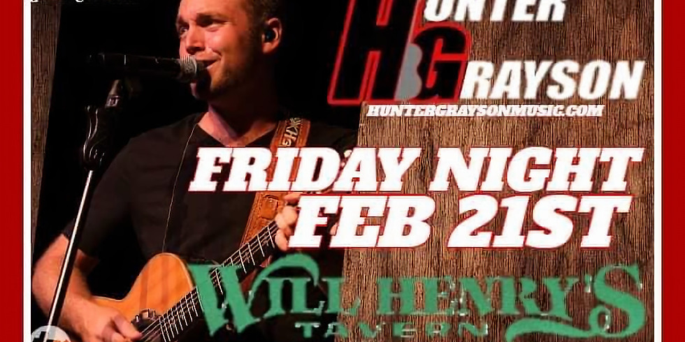 Hunter Grayson Live!