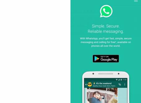 WhatsApp testa três recursos inéditos que farão parte do aplicativo