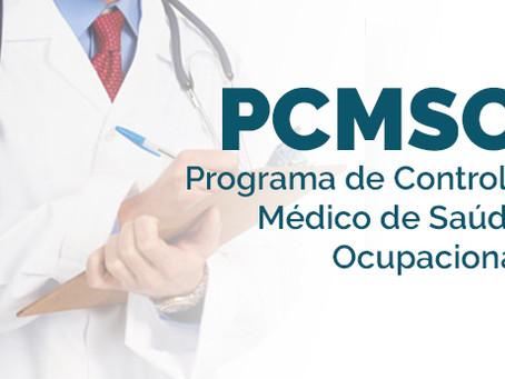 PROGRAMA DE CONTROLE MÉDICO DE SAÚDE OCUPACIONAL - PCMSO - NR7