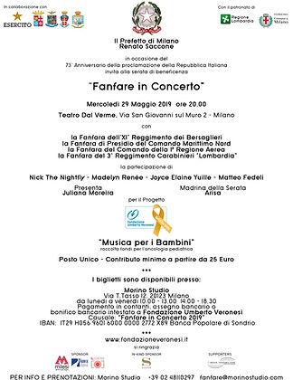 INVITO e ALLEGATO Fanfare in Concerto -