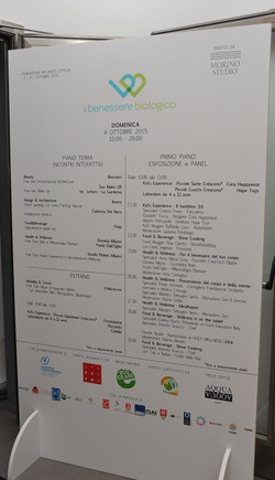 Il Benessere Biologico - Opening 2 Ottobre 20156