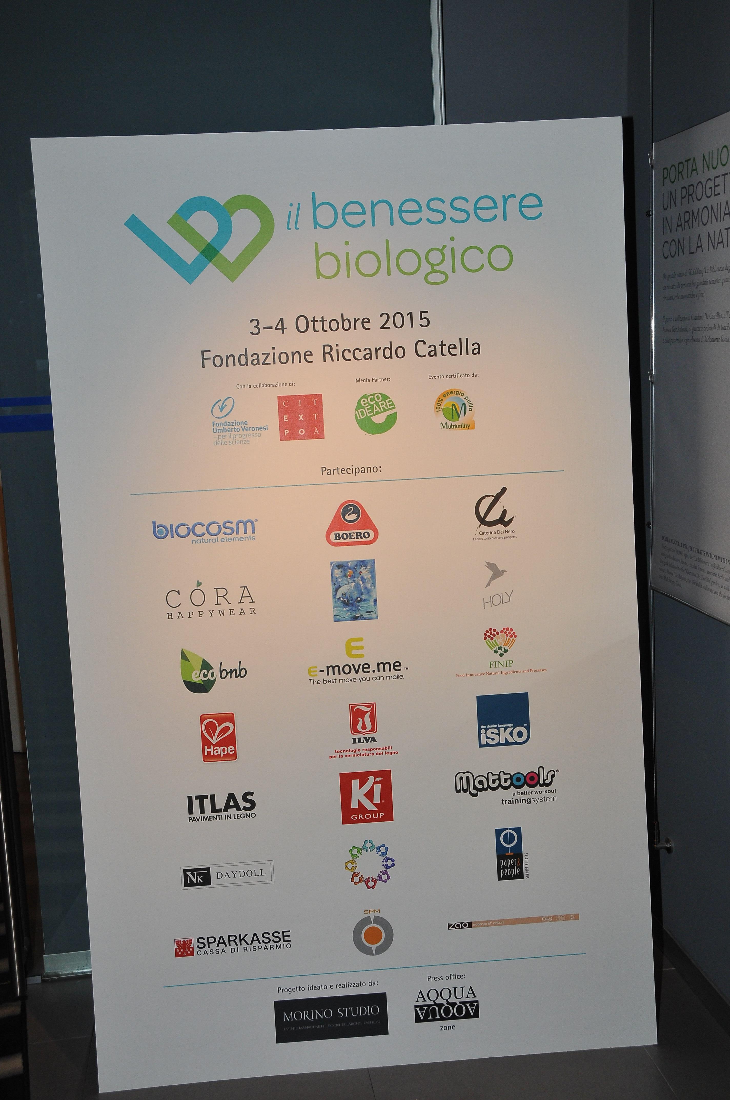 Il Benessere Biologico - Opening 2 Ottobre 20154