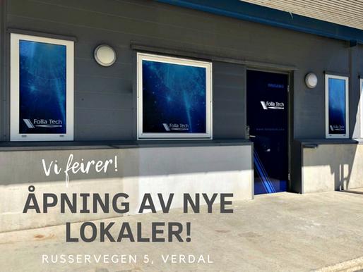 Åpning av nye lokaler i Verdal!