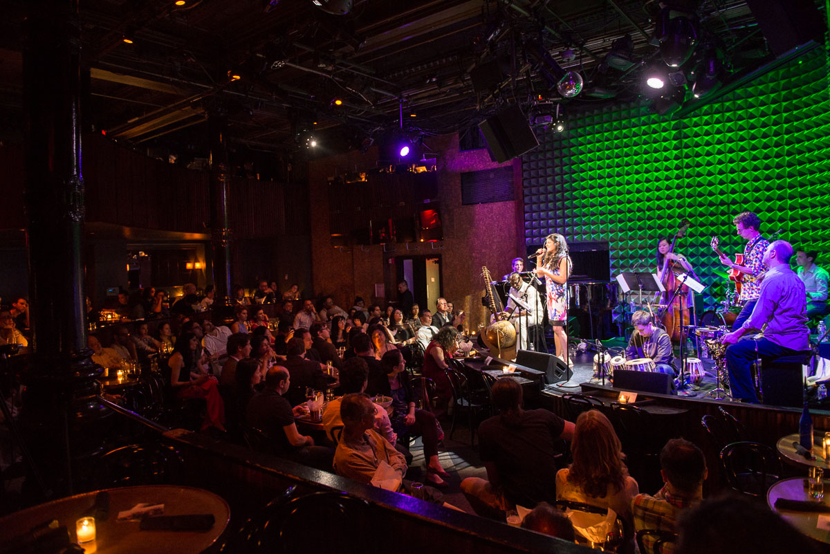 Live at Joe's Pub