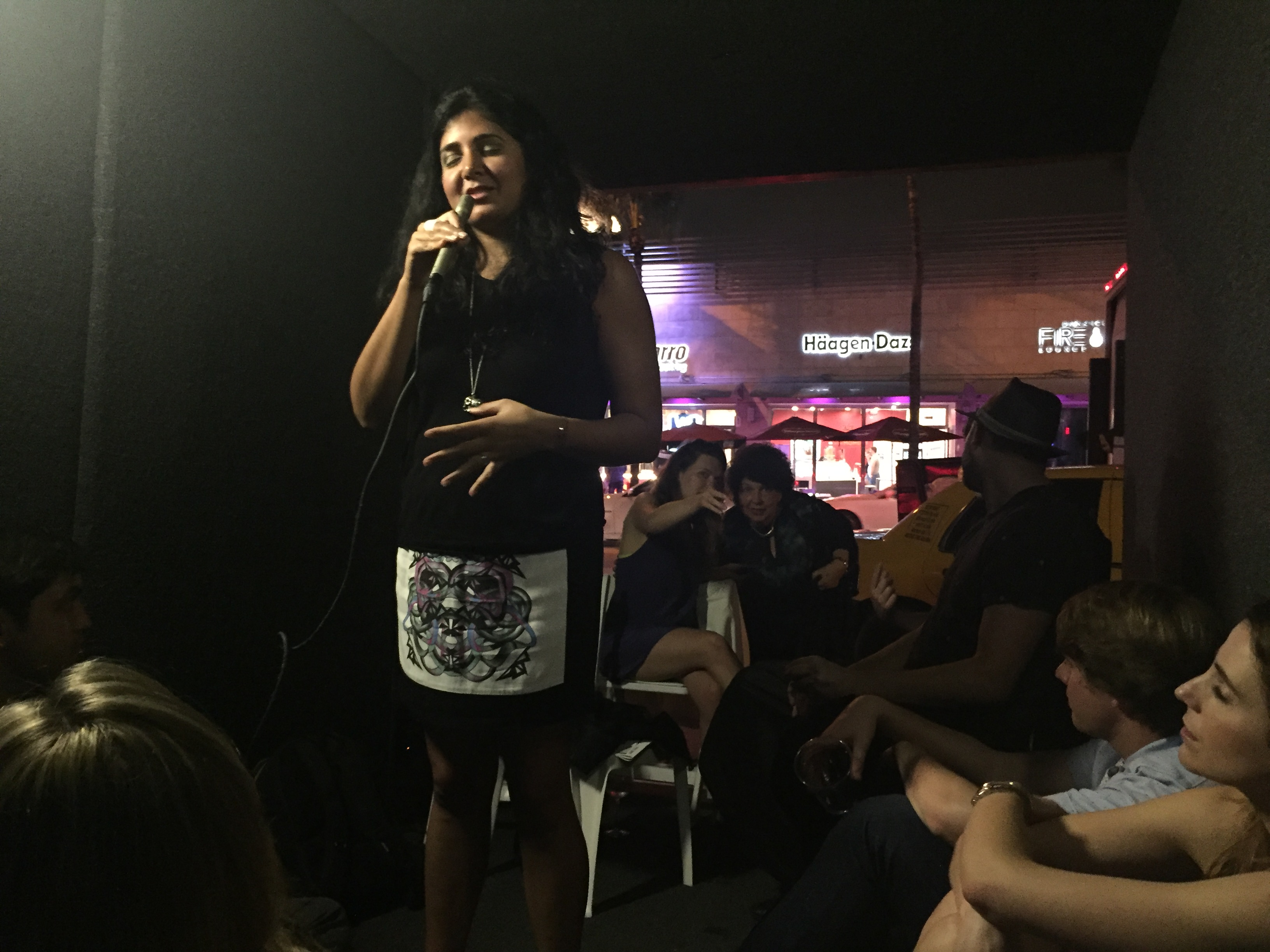 Kavita at Art Basel: Miami w/PORTALS