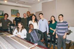 VISIONS Recording at Sear Sound