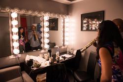 Kavita & Greg Osby backstage!