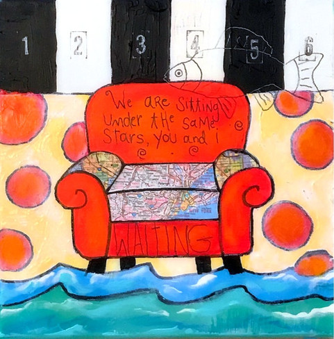 sitting under the same stars