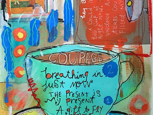Journal page: courage