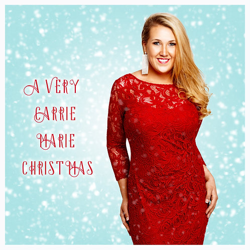 A Very Carrie Marie Christmas CD