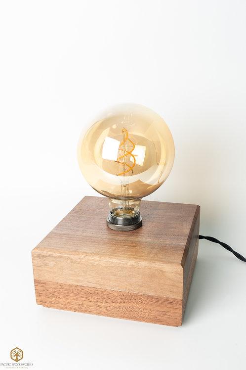 Walnut Edison Lamp